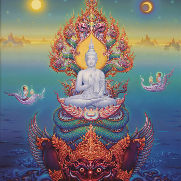 The Blessing of Lord Buddha
